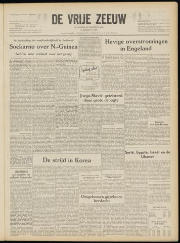 de Vrije Zeeuw 1952-08-18