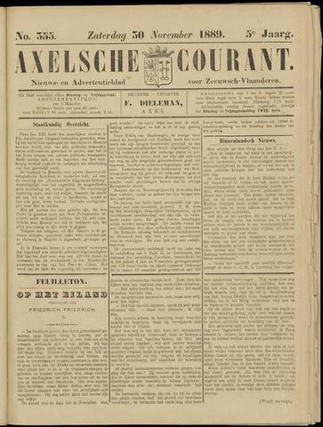 Axelsche Courant 1889-11-30