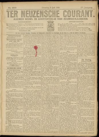 Ter Neuzensche Courant. Algemeen Nieuws- en Advertentieblad voor Zeeuwsch-Vlaanderen / Neuzensche Courant ... (idem) / (Algemeen) nieuws en advertentieblad voor Zeeuwsch-Vlaanderen 1918-07-09