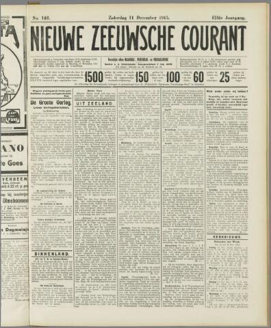 Nieuwe Zeeuwsche Courant 1915-12-11
