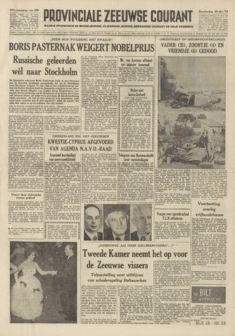 Provinciale Zeeuwse Courant 1958-10-30
