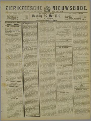 Zierikzeesche Nieuwsbode 1916-05-22