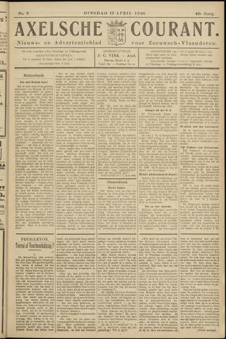Axelsche Courant 1926-04-13