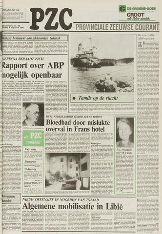 Provinciale Zeeuwse Courant 1983-08-06