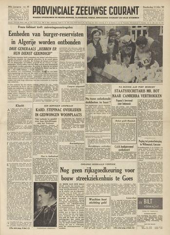 Provinciale Zeeuwse Courant 1960-02-11