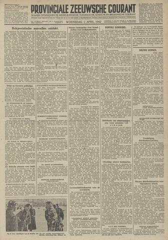 Provinciale Zeeuwse Courant 1942-04-01
