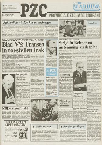 Provinciale Zeeuwse Courant 1984-07-03