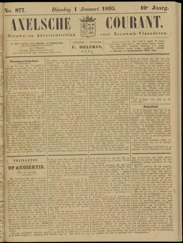 Axelsche Courant 1895