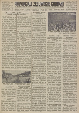 Provinciale Zeeuwse Courant 1942-08-05