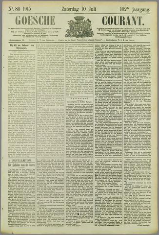 Goessche Courant 1915-07-10
