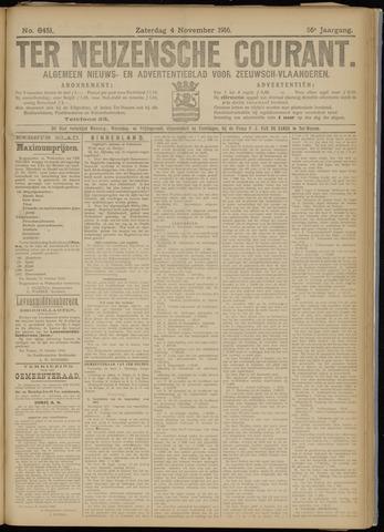 Ter Neuzensche Courant. Algemeen Nieuws- en Advertentieblad voor Zeeuwsch-Vlaanderen / Neuzensche Courant ... (idem) / (Algemeen) nieuws en advertentieblad voor Zeeuwsch-Vlaanderen 1916-11-04