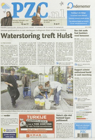 Provinciale Zeeuwse Courant 2009-09-02