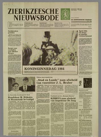 Zierikzeesche Nieuwsbode 1984-05-01