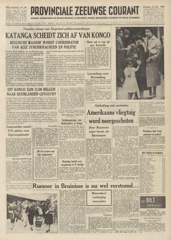 Provinciale Zeeuwse Courant 1960-07-12