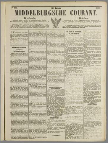 Middelburgsche Courant 1906-10-11