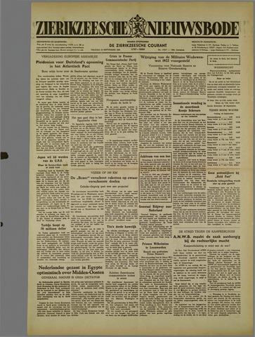 Zierikzeesche Nieuwsbode 1952-09-19