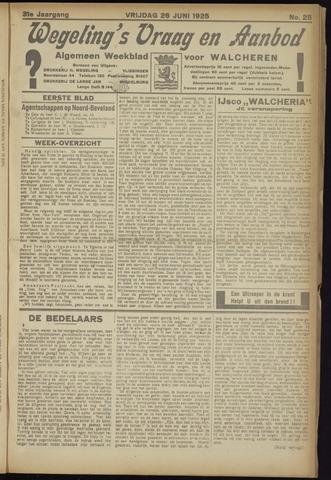 Zeeuwsch Nieuwsblad/Wegeling's Nieuwsblad 1925-06-26