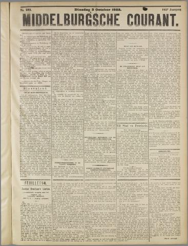 Middelburgsche Courant 1922-10-03