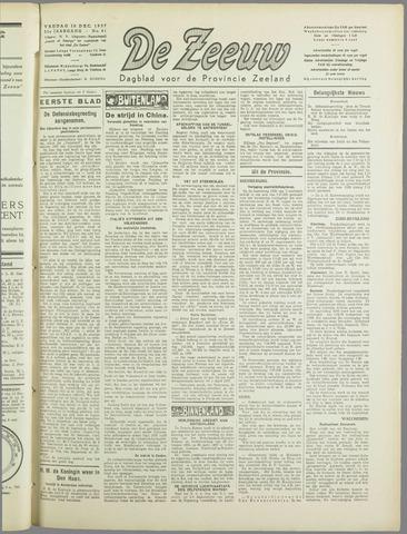 De Zeeuw. Christelijk-historisch nieuwsblad voor Zeeland 1937-12-10