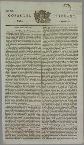 Goessche Courant 1833-10-11