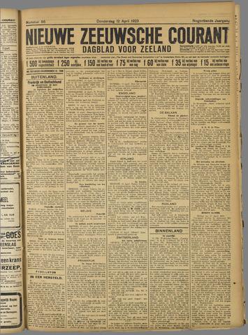 Nieuwe Zeeuwsche Courant 1923-04-12