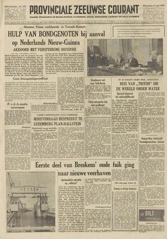 Provinciale Zeeuwse Courant 1960-05-11