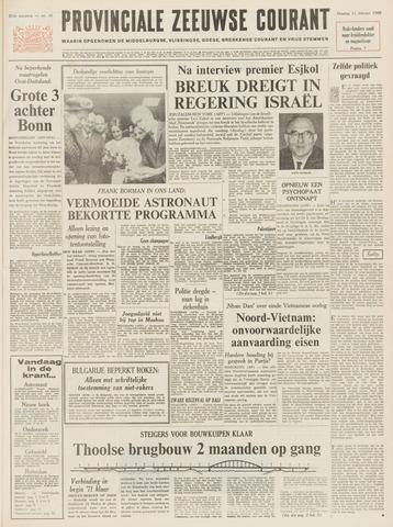 Provinciale Zeeuwse Courant 1969-02-11