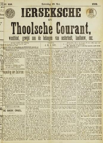 Ierseksche en Thoolsche Courant 1892-05-28