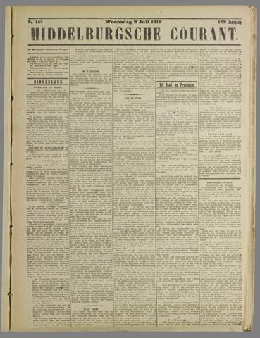 Middelburgsche Courant 1919-07-02