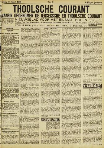 Ierseksche en Thoolsche Courant 1933-03-03