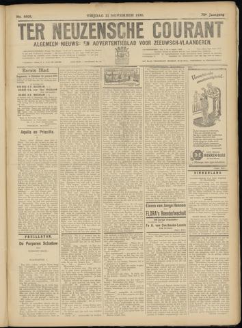 Ter Neuzensche Courant. Algemeen Nieuws- en Advertentieblad voor Zeeuwsch-Vlaanderen / Neuzensche Courant ... (idem) / (Algemeen) nieuws en advertentieblad voor Zeeuwsch-Vlaanderen 1930-11-21