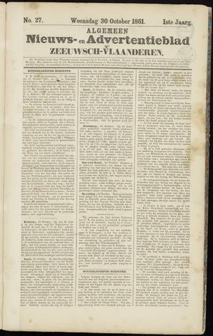 Ter Neuzensche Courant. Algemeen Nieuws- en Advertentieblad voor Zeeuwsch-Vlaanderen / Neuzensche Courant ... (idem) / (Algemeen) nieuws en advertentieblad voor Zeeuwsch-Vlaanderen 1861-10-30