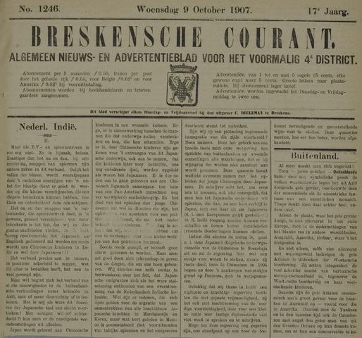 Breskensche Courant 1907-10-09