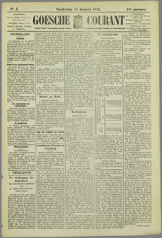 Goessche Courant 1924-01-10