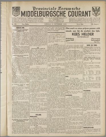 Middelburgsche Courant 1932-11-22