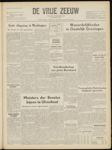 de Vrije Zeeuw 1952-12-22