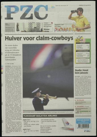 Provinciale Zeeuwse Courant 2014-07-25