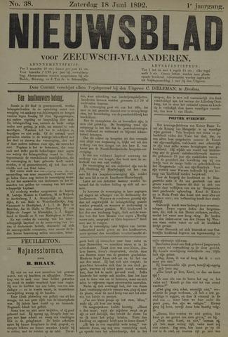 Nieuwsblad voor Zeeuwsch-Vlaanderen 1892-06-18