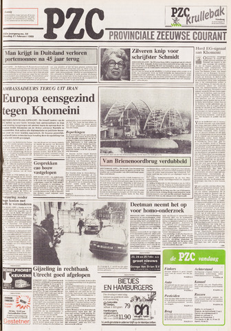 Provinciale Zeeuwse Courant 1989-02-21