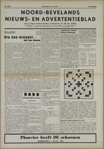 Noord-Bevelands Nieuws- en advertentieblad 1973-05-10