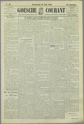 Goessche Courant 1924-07-24