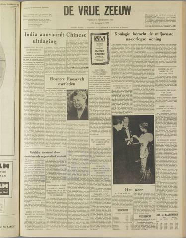 de Vrije Zeeuw 1962-11-09