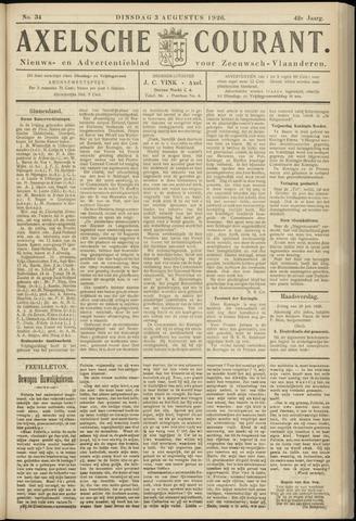 Axelsche Courant 1926-08-03