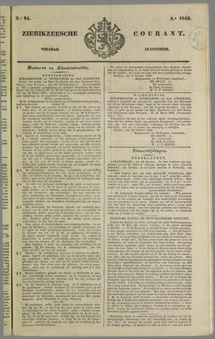 Zierikzeesche Courant 1844-10-18