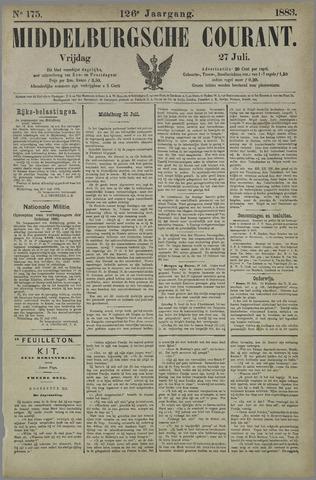 Middelburgsche Courant 1883-07-27