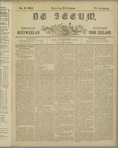 De Zeeuw. Christelijk-historisch nieuwsblad voor Zeeland 1902-10-18