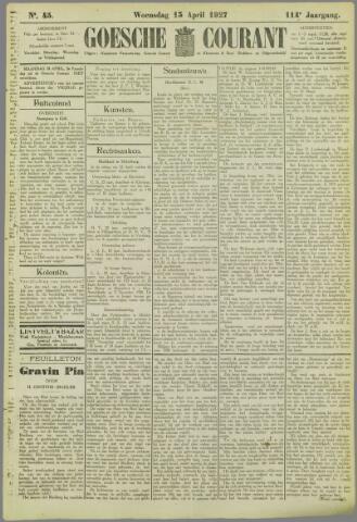 Goessche Courant 1927-04-13