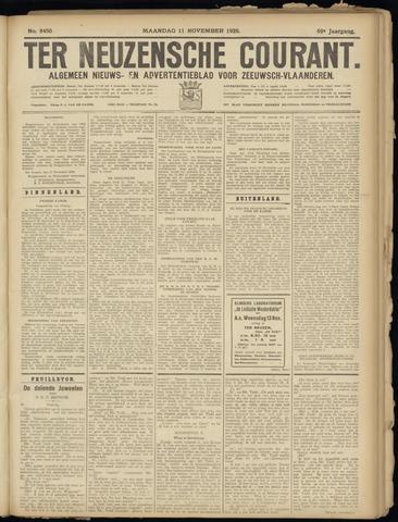 Ter Neuzensche Courant. Algemeen Nieuws- en Advertentieblad voor Zeeuwsch-Vlaanderen / Neuzensche Courant ... (idem) / (Algemeen) nieuws en advertentieblad voor Zeeuwsch-Vlaanderen 1929-11-11