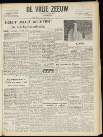 de Vrije Zeeuw 1951-12-03
