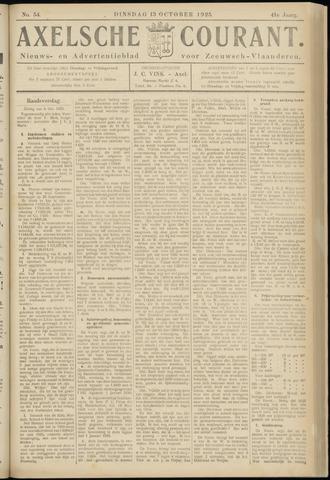 Axelsche Courant 1925-10-13